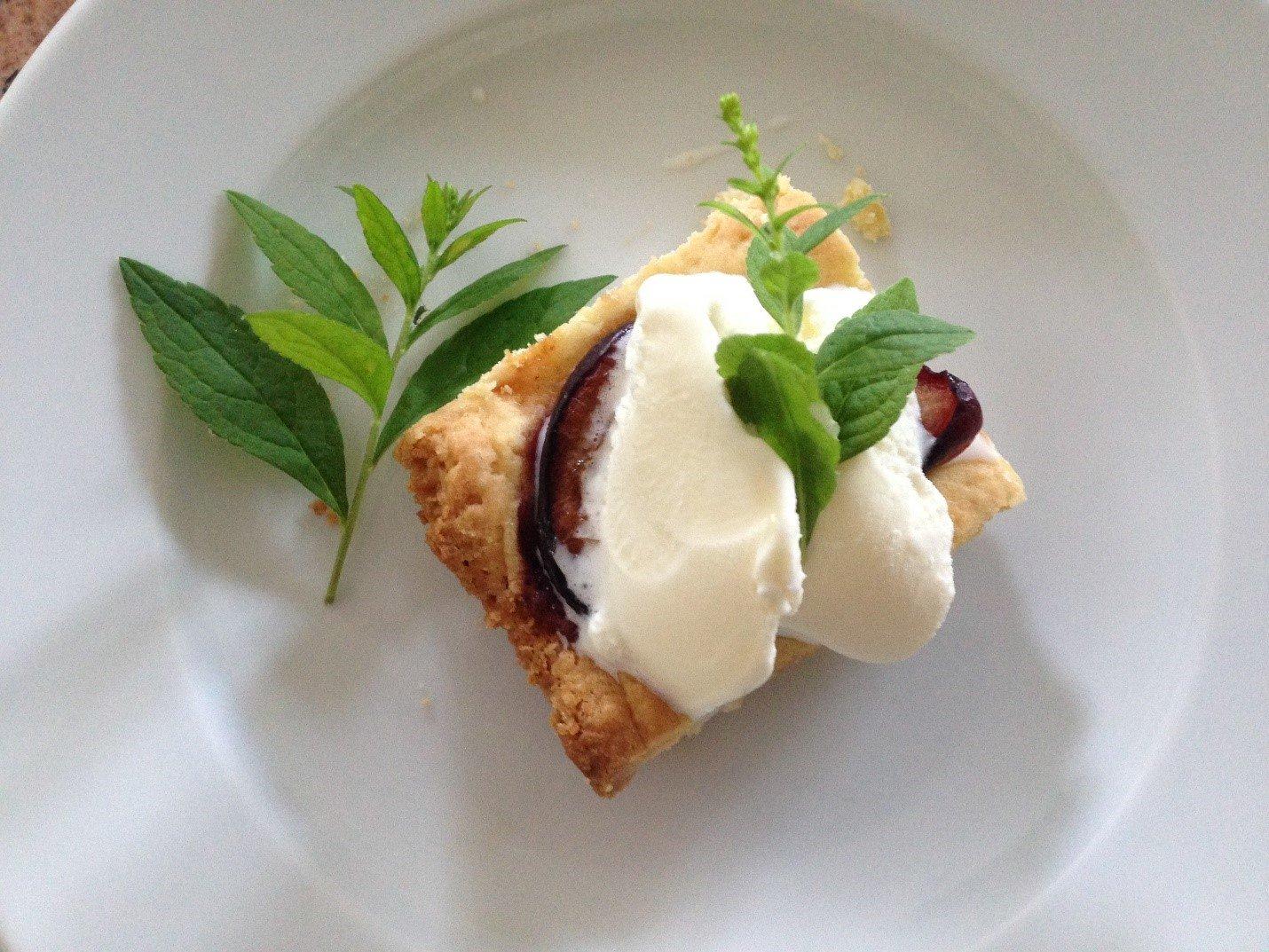 Plum Cake Dessert
